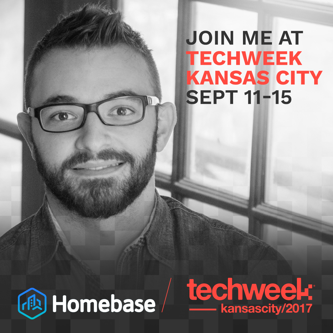 Speaking about Homebase at Techweek KC 2017